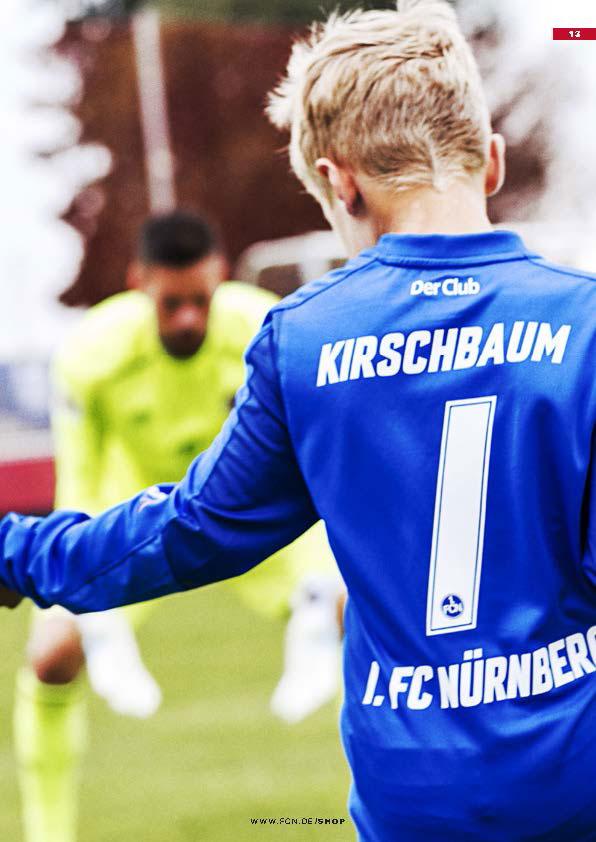 Nachwuchsspieler Fußball FCN Vater Sohn Momente Personalisierte Trikots