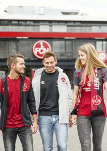 Freunde Spaß Spielkultur FCN Fußball
