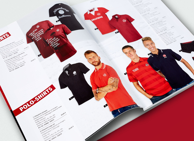 Katalogfotografie Teamwear Sportmannschaft Fanartikel Merchandising