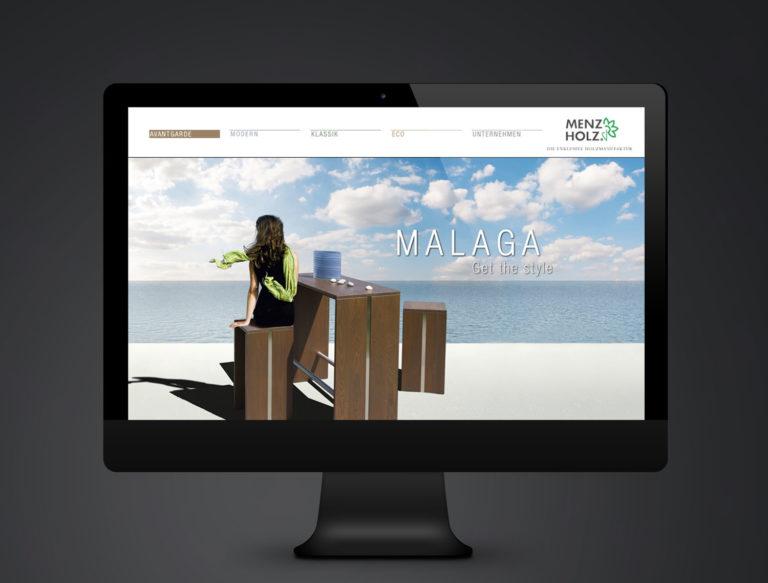 Vision Horizont Malaga Holz Design
