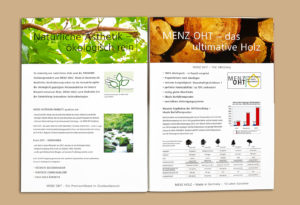 Kataloggestaltung Pixelbäcker Katalog Werbeauftritt Printmedien