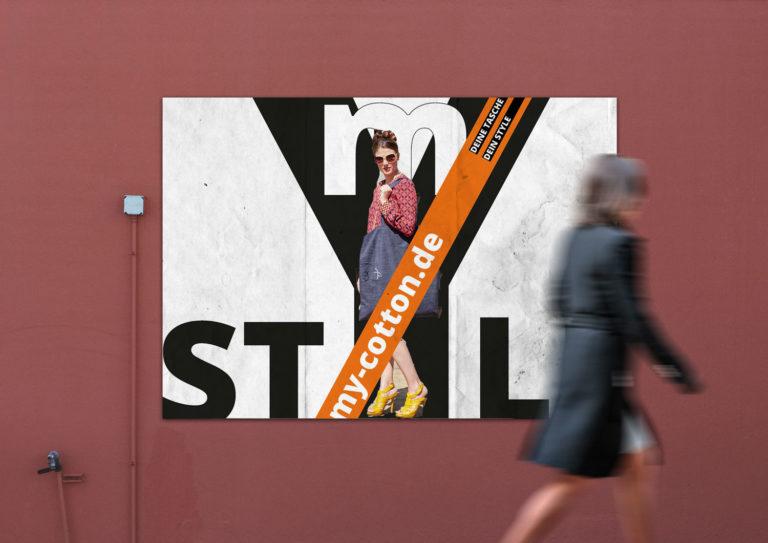 Werbekampange Außenwerbung Realisierbar Visionäre Realitäten Style