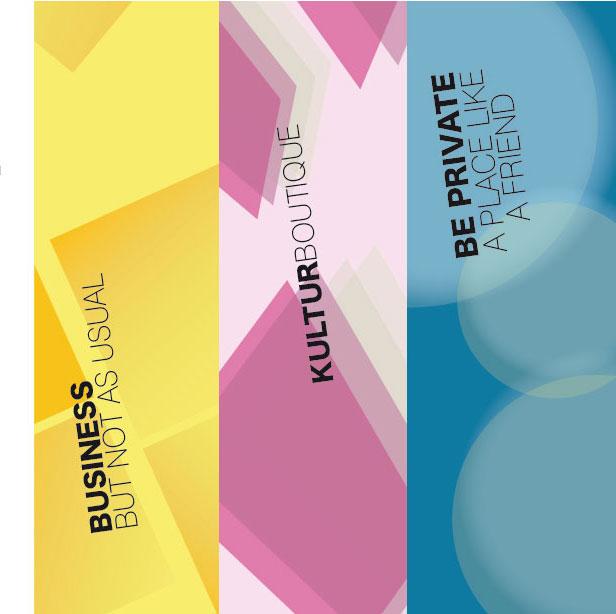 Werbemittel Kultureinrichtung Workingspace Veranstaltungsmarketing