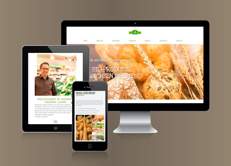 Onlineauftritt Full Service Agentur Corporate Identity Internettauftritt Werbeauftritt