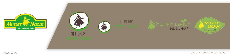 Logoentwurf Premiumqualität Aus Liebe zur Natur Biologisch abbaubar