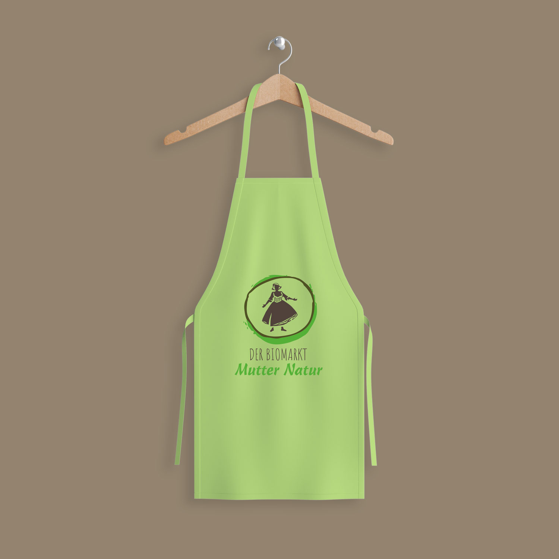 Logogestaltung Biomarkt Hipster Grüner leben Naturprodukte