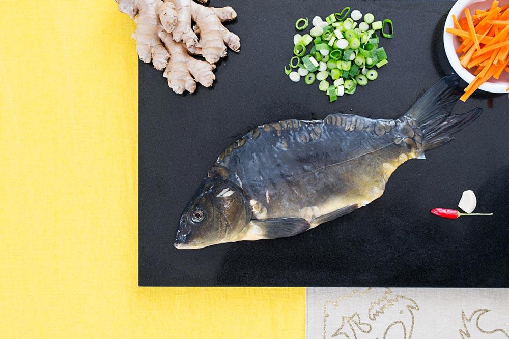 Werbeshooting Peter Beckstein Frischfang Fisch Zutaten Zubereitungsschritte